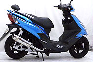SYM New Fighter 150 ZR / X'Pro Fighter 150
